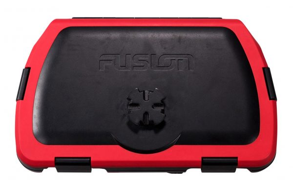 Fusion Active Safe - Waterproof Storage & Stereo Active Dock - Red