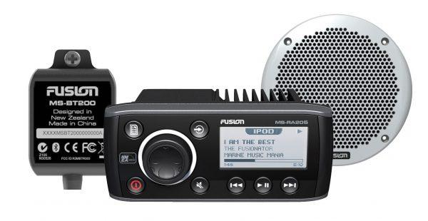 Fusion RA205 Bundle with BT200 Bluetooth / EL602 speakers