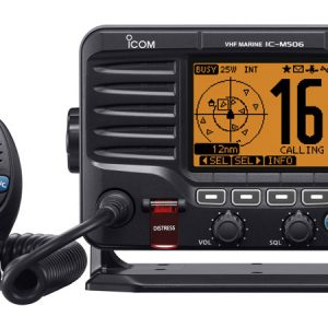 Icom IC-M506 VHF/DSC Marine Transceiver with NMEA 2000 Connectivity and AIS Receiver