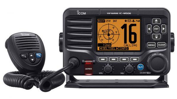 Icom IC-M506 VHF/DSC Marine Transceiver with NMEA 2000 Connectivity and AIS Receiver
