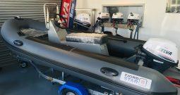 FJORDSTAR FS380 + Selva Wahoo 20hp Outboard
