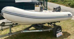 Caribe C12 Rib + Tohatsu 25hp Outboard For Sale