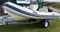 Valiant V-400 RIB + Mercury 25hp Fourstroke Outboard For Sale