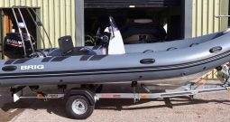 BRIG FALCON RIDER 500HL + 60hp Suzuki Fourstroke Outboard