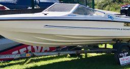 Fletcher 155 Arrowsport GTO + 80hp Mercury Outboard for sale