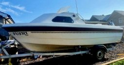 Picton kingfisher – 18ft cuddy fishing boat for sale