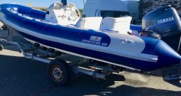 Avon Adventure 560 + Yamaha 100hp Outboard RIB For Sale