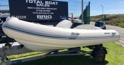 BRIG Eagle 380 + 50hp Suzuki Outboard for Sale