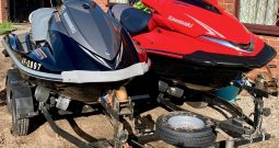 Kawasaki Ultra 250X (Supercharged) and Yamaha VX1100 Deluxe Jestskis for Sale